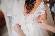 Продам итальянское свадебное платье бренда La Petra, цвет пудра(ОРИГИНАЛ)